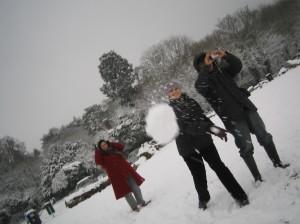 Having a 'Snow go'