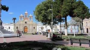 Riobamba - the cenral square